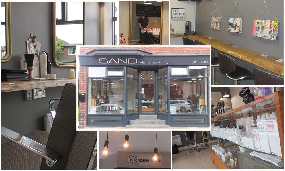 Collage of Sale salon photos