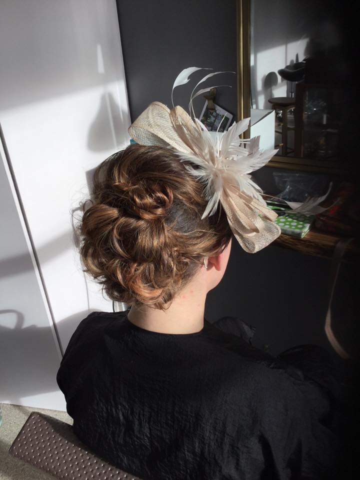 Classic Hair Up Sand Hairdressing